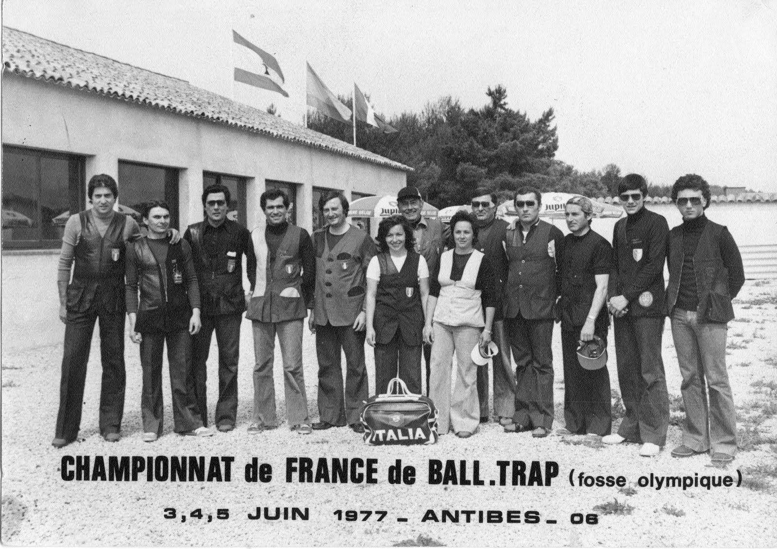 1977 - Campionato di Francia - Antibes - Med. Argento Individuale 193/200