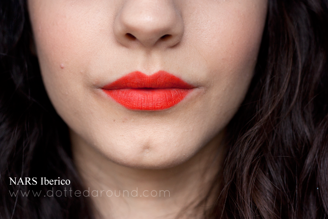 nars iberico velvet matte lip pencil swatch