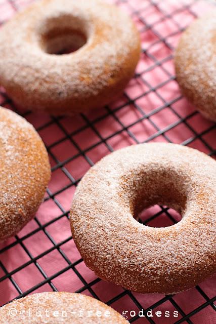 Gluten-Free Pumpkin Donuts, darling