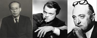 Kenji Mizoguchi, Orson Welles ve Max Ophüls
