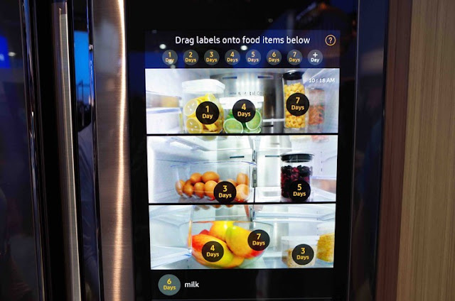 Best of CES 2016, Best Smart Appliance, Samsung Family Hub Refrigerator