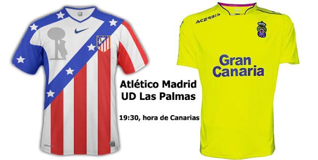 Ver en vivo Atlético de Madrid - Las Palmas