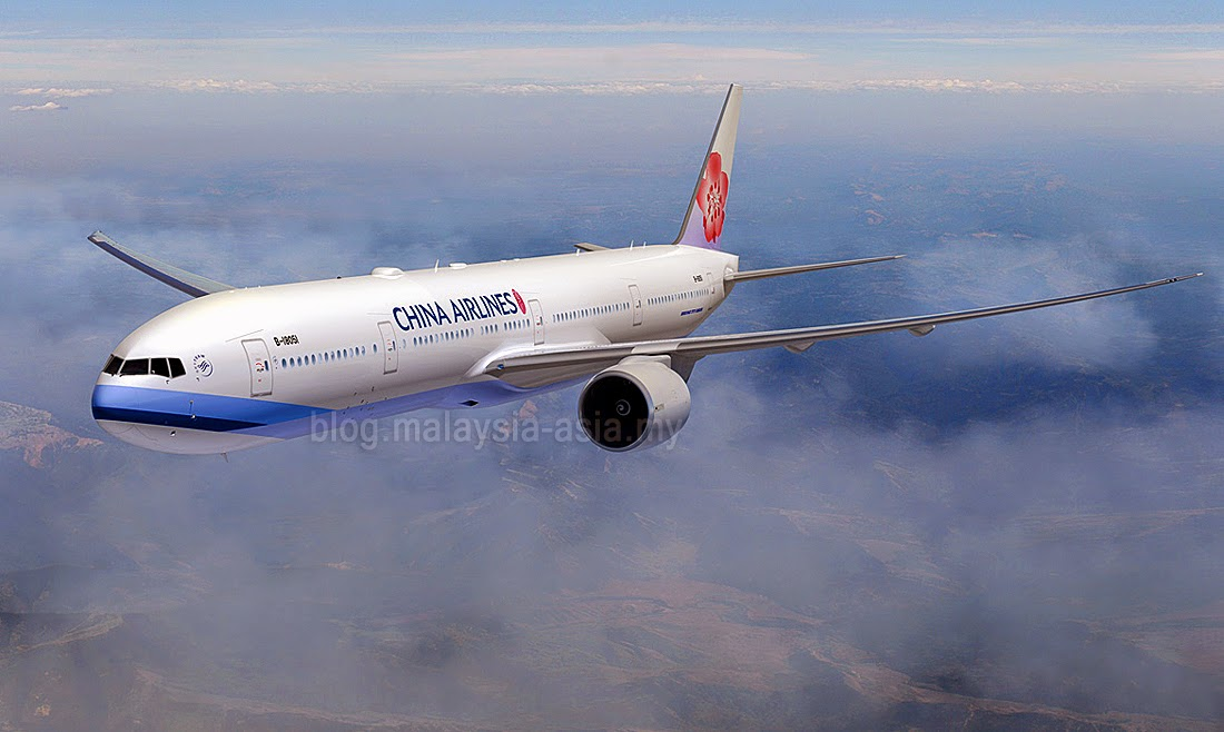 China Airlines New Boeing 777-300ER Fleet
