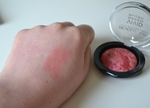 Makeup Revolution Vivid Baked Blush in Loved Me The Best