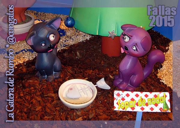 Gatos Falla Infantil Pintor Salvador Abril - Peris y Valero