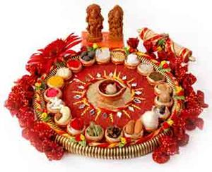 for Aarti thali decoration competition