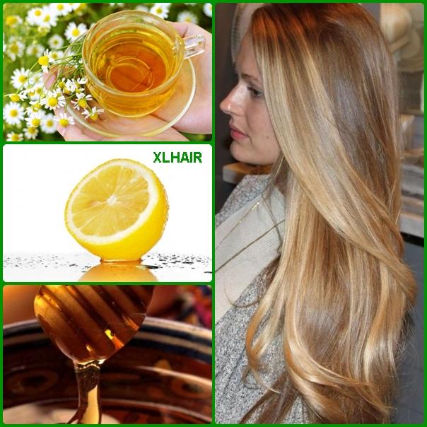 Aclarar el cabello con miel y limon