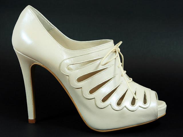 zapatos de novia talla 35 Nuria Cobo