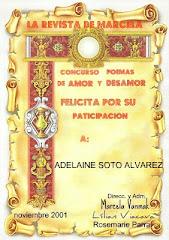 PARTICIPACION EN CONCURSO DE LITERATURA