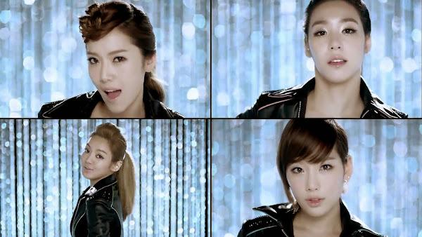 SNSD Mr. Taxi Split Screen Jessica Tiffany Hyoyeon Taeyeon