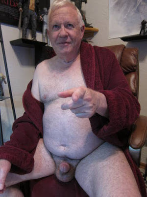 silver daddies holder men - senior cock and ball - hairy seniors