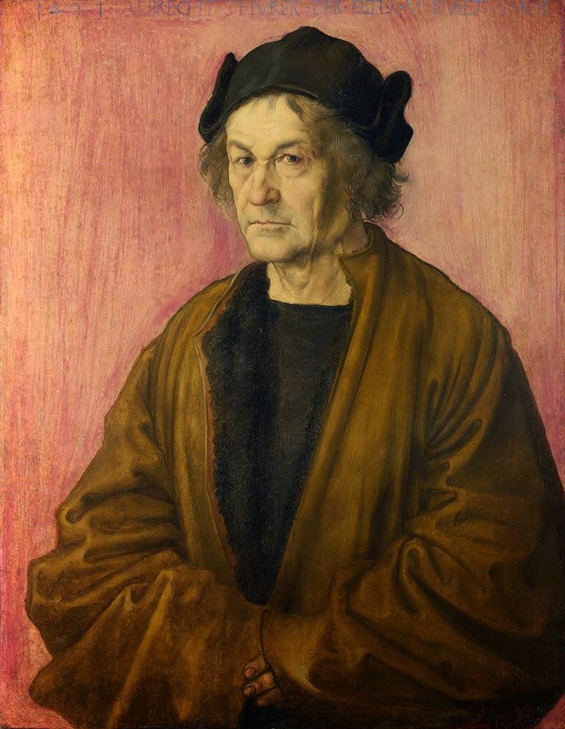 Atribuído a Alberto Durero, Retrato del padre de Durero a los 70 años