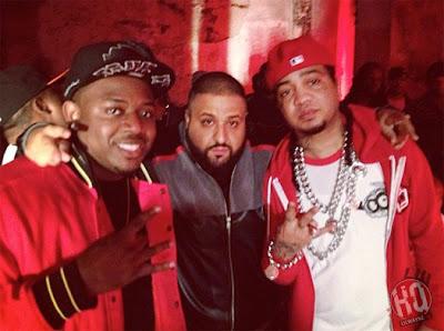"dj khaled lil wayne future ti ace hood models bottles video shoot12 Photo Updates: Behind The Scene On Set Of DJ Khaled, Lil Wayne, Future, T.I. and Ace Hood's ""Models and Bottles"" Video Shoot"