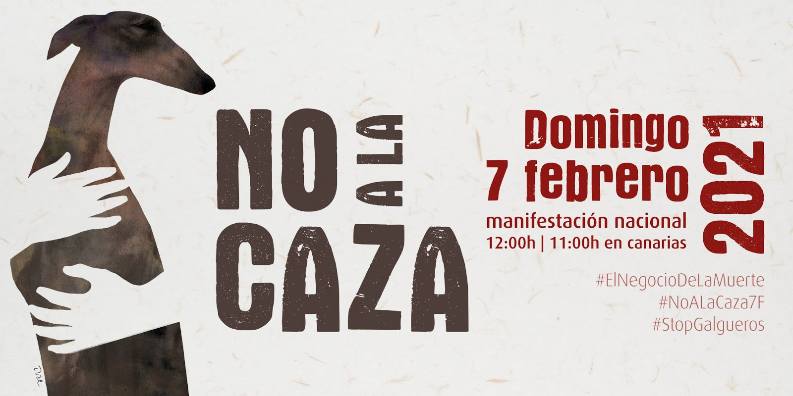 Manifestación - NO a la CAZA