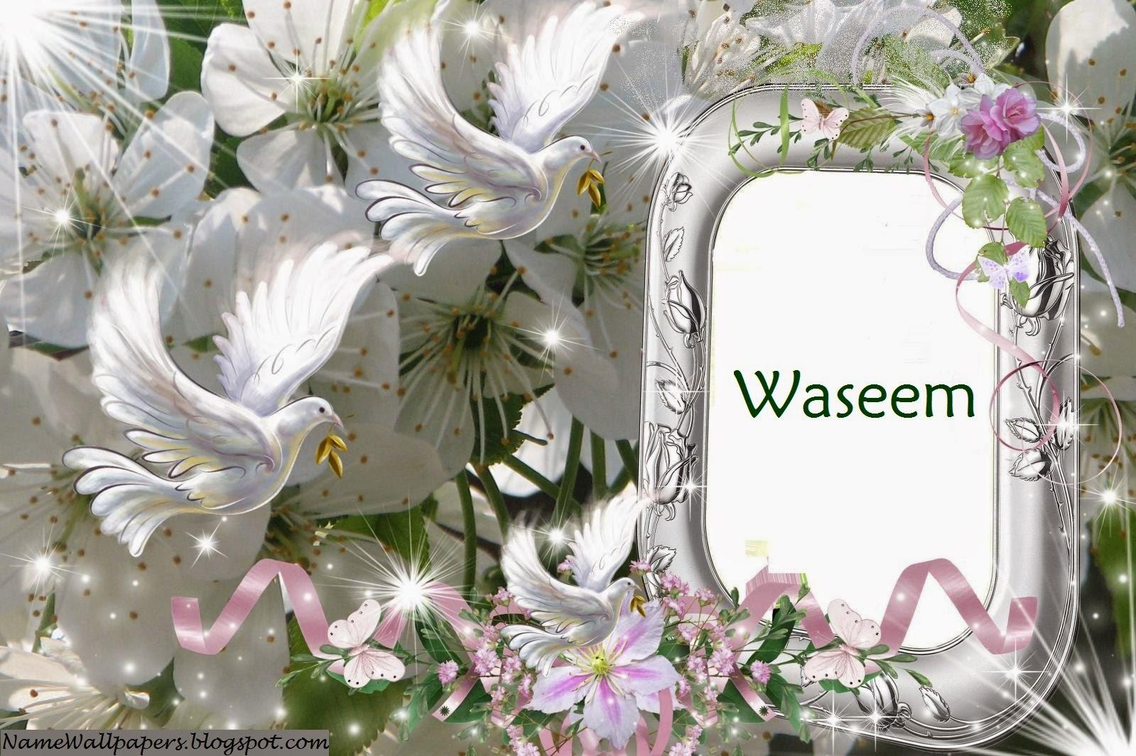 M Logo Wallpaper Waseem Name Wallpapers...