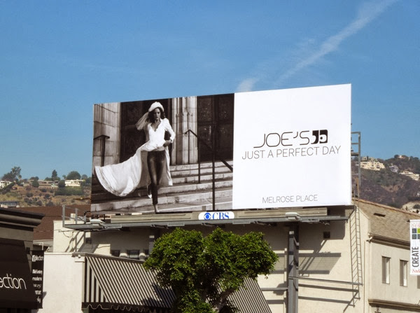 Joe's Jeans Just a perfect day wedding dress billboard
