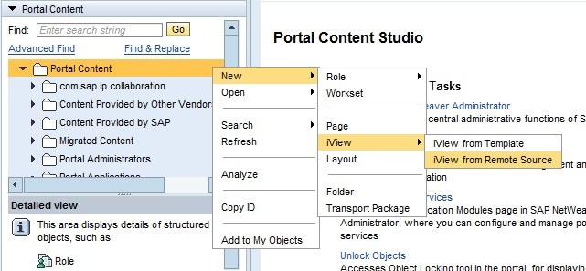 Creating WebDynpro Iviews in EP 7.3 onlysapep.blogspot.in only sap ep  blogspot
