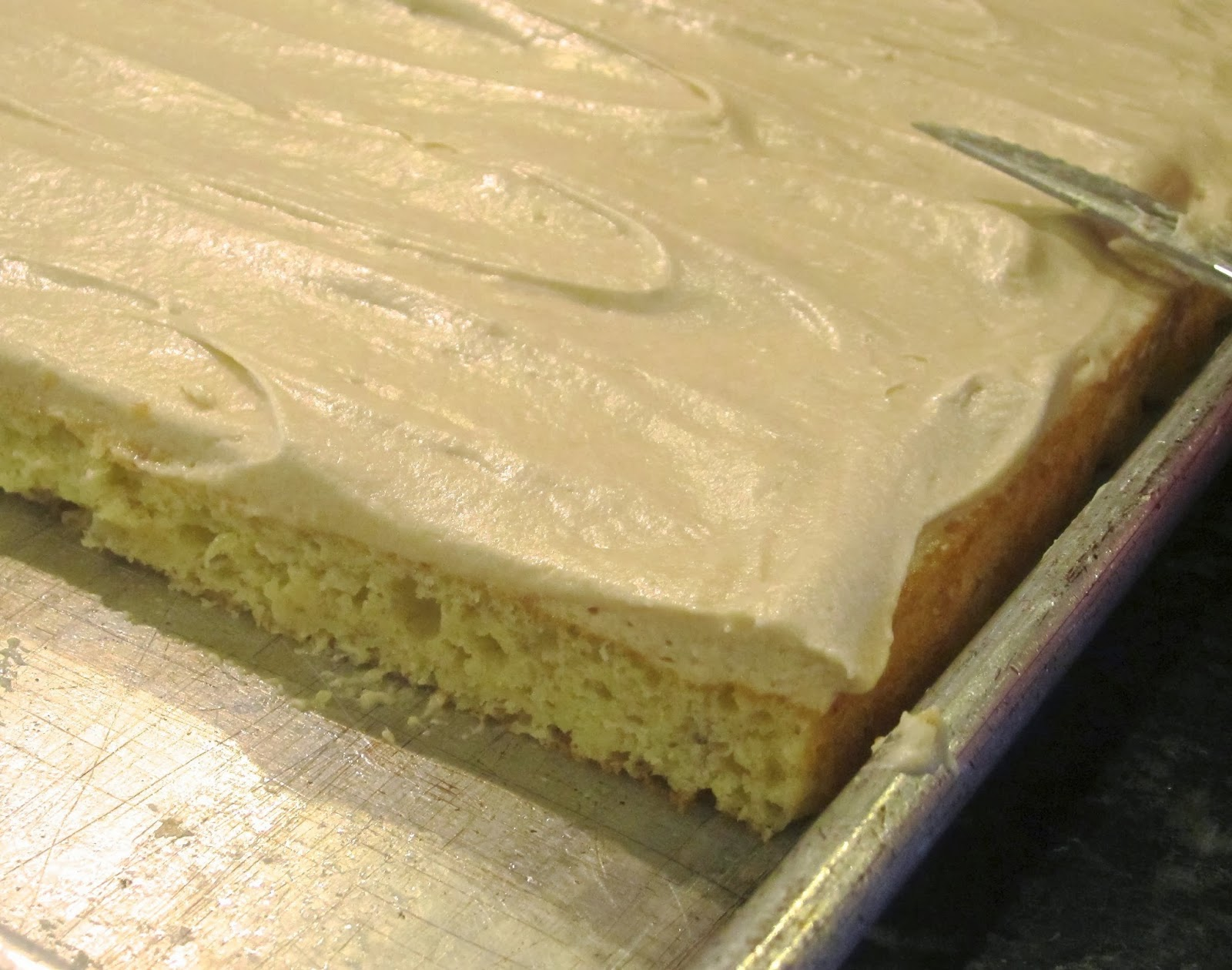 Frosted Banana Sheet Cake