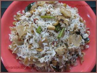Chapati rice