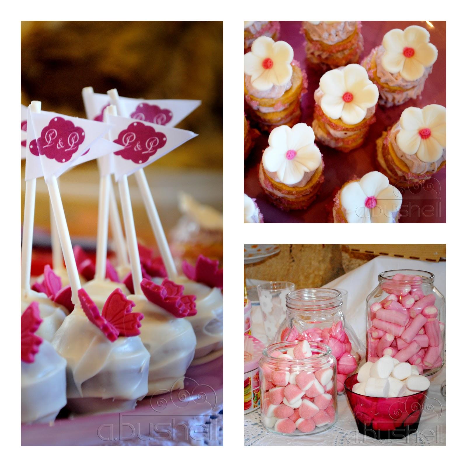 Candy Bar Pam Cupcakes