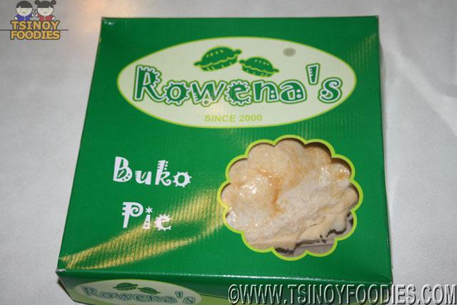 rowena's buko pie