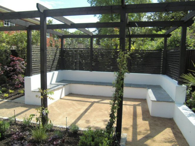 A Life Designing Garden Design Ideas Covering An Unsightly Wall