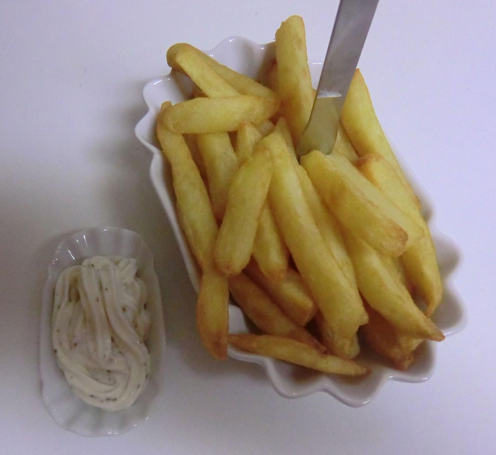 pommes frites kalorien