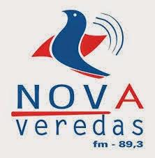 ouvir a Rádio Nova Veredas FM 89,3 Bom Despacho MG