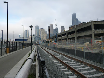 View of Seattle from What Used to Be Part of the Bay
