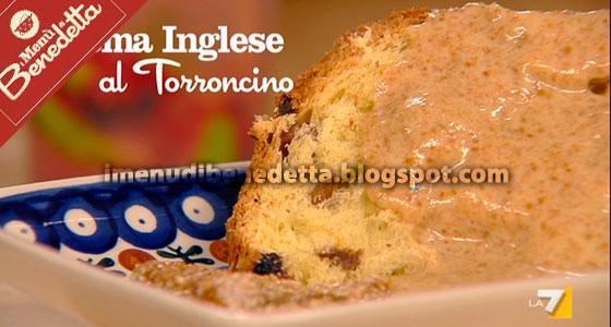 Crema Inglese al Torroncino di Benedetta Parodi