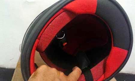 Helm Hitam Honda