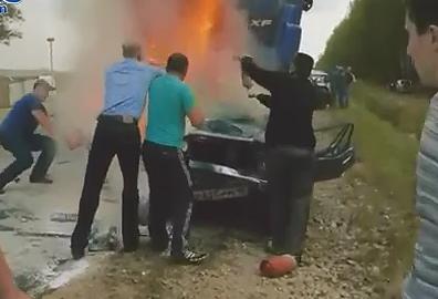 Trágico Choque en Rusia