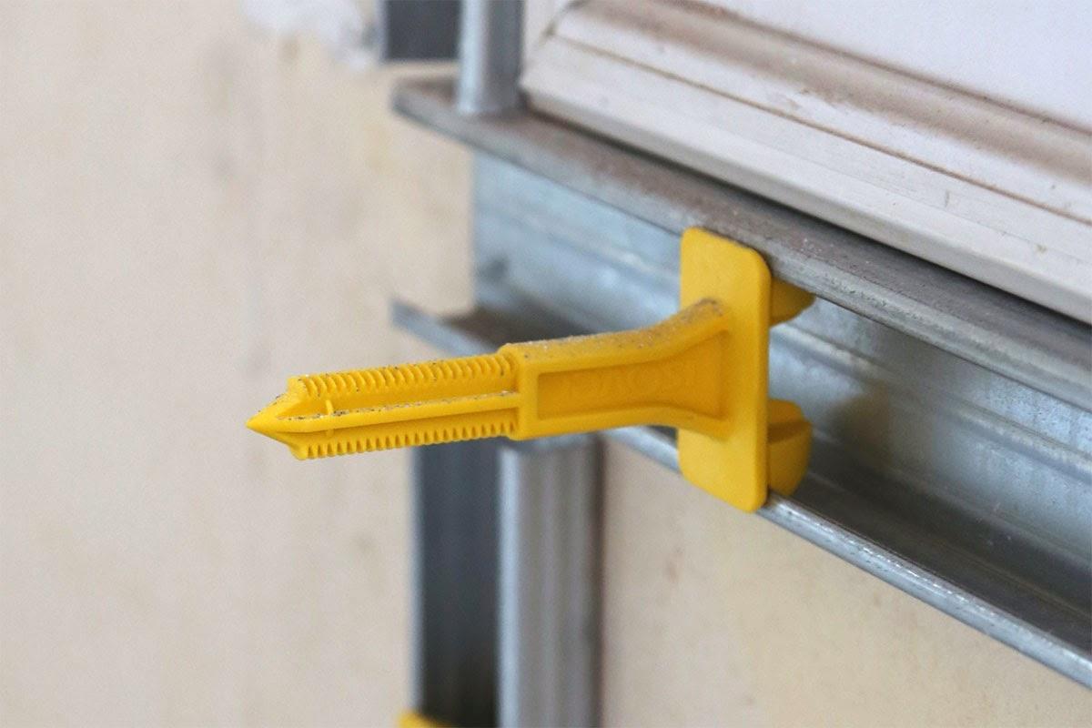 R novation de ma maison ossature cloison du salon et de la cuisine - Comment nettoyer un mur non lessivable ...