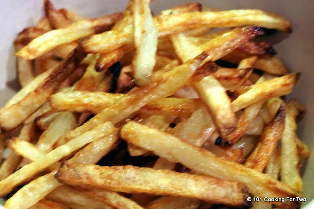 Easiest Crispy Oven Baked French Fries from 101 Cooking For Two
