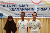 2 Siswa SMAN 110 di Seminar Duta Pelajar Keamanan Informasi