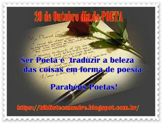 Dia do poeta