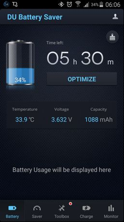 aplikasi du battery android - optimize