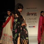 Chitrangada Singh Looks Stunning In Saree At The Lakme Fashion Week 2013