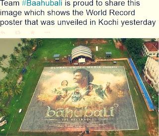 Baahubalu set World record