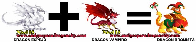 como hacer el dragon bromista de dragon city formula 1
