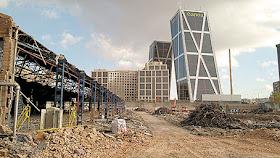Destrucción del paisaje industrial madrileño