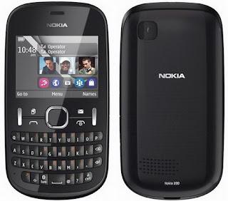 Firmware Nokia Asha 200 RM-761 v.11.95