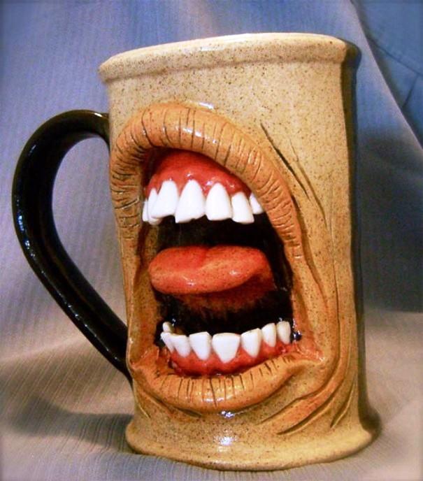 Weird coffee mug designs for Coffee mugs unique design