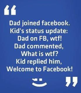 Welcome Facebook Note