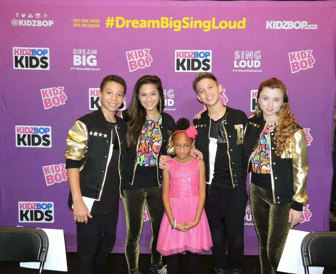 Kidz Bop Kids Concert Recap Review #DreamBigSingLoud via www.productreviewmom.com