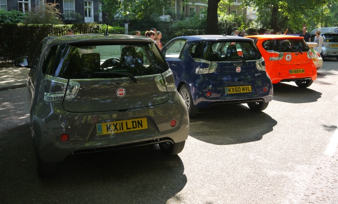 Three Aston Martin Cygnets