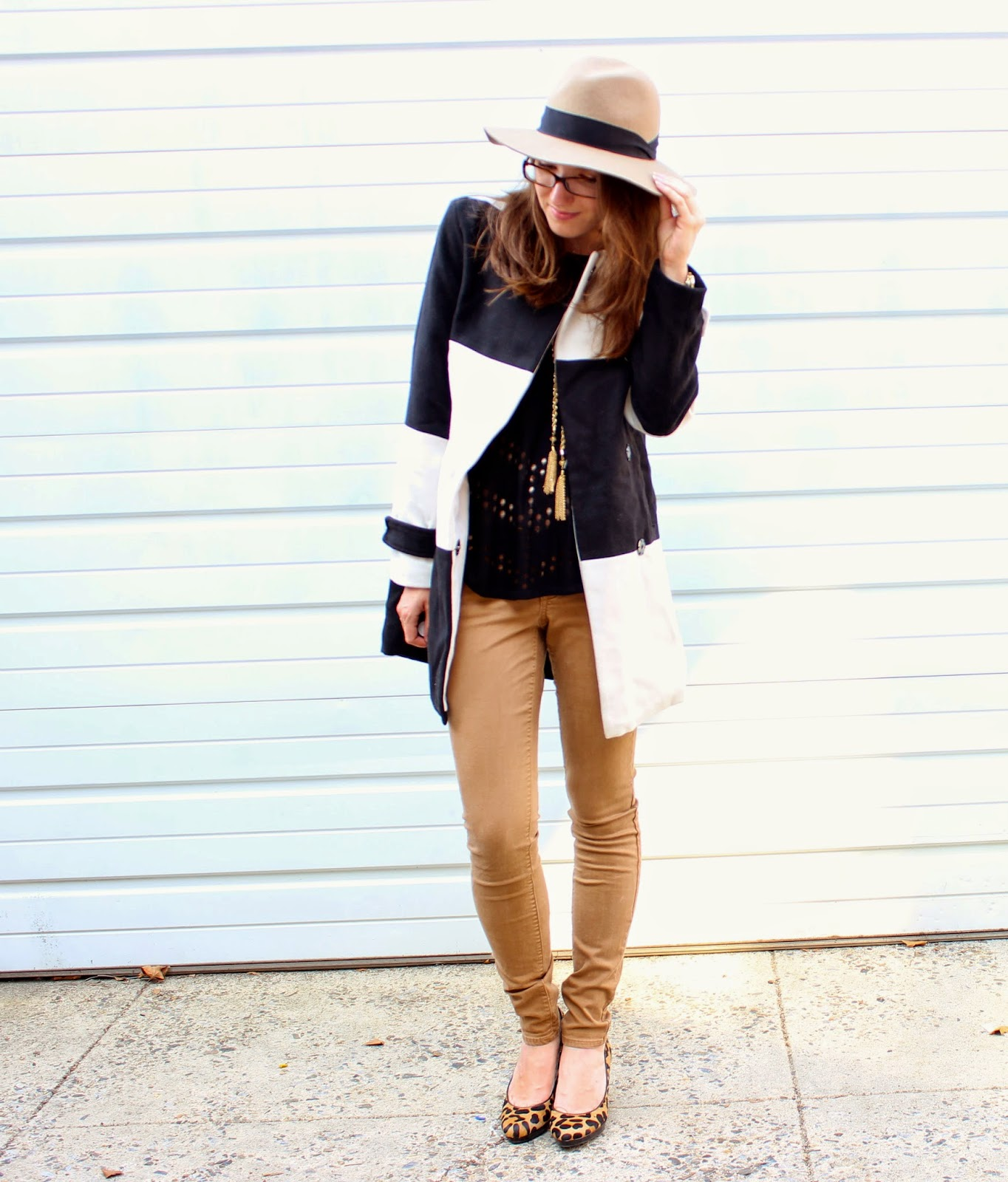 Black + White + Camel… OH MY! || Fall Preview Friday