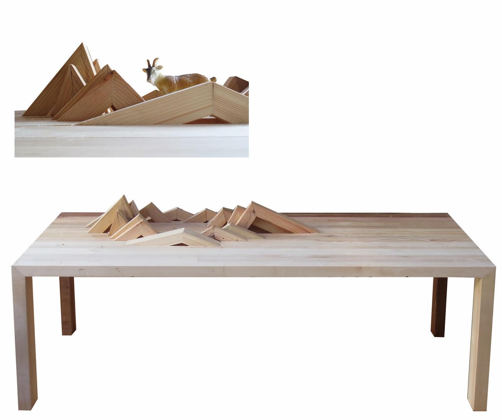 hekomob serie slice table paysage 1. Black Bedroom Furniture Sets. Home Design Ideas