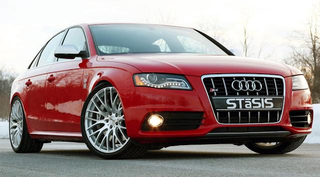 Side image of Audi S4