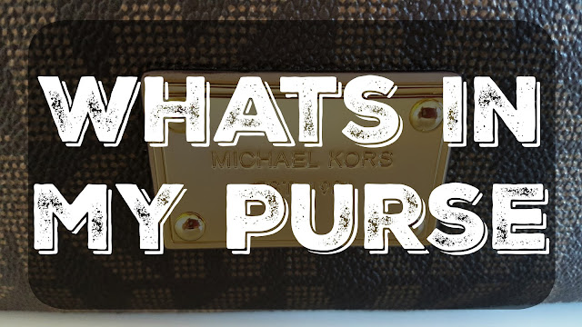 Whats in my Purse -  Fall/Winter 2015